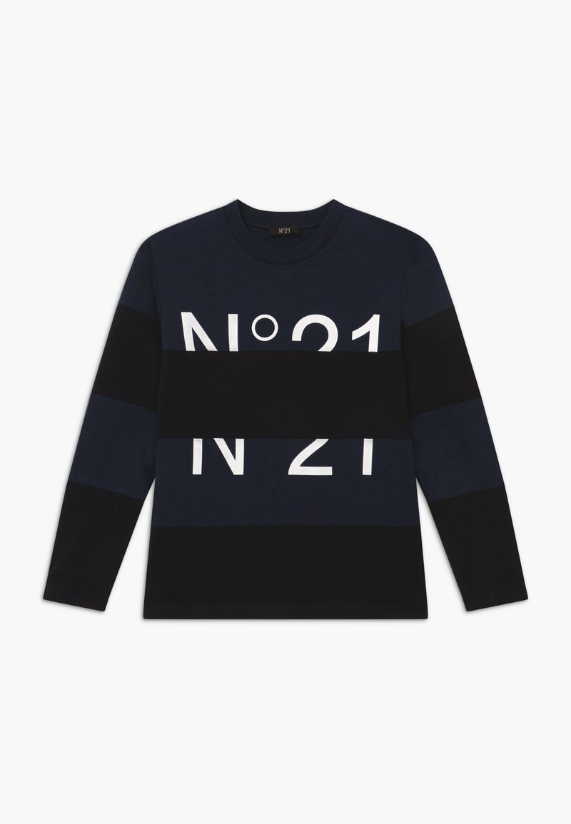 N°21 - MAGLIETTA - Long sleeved top - dark blue