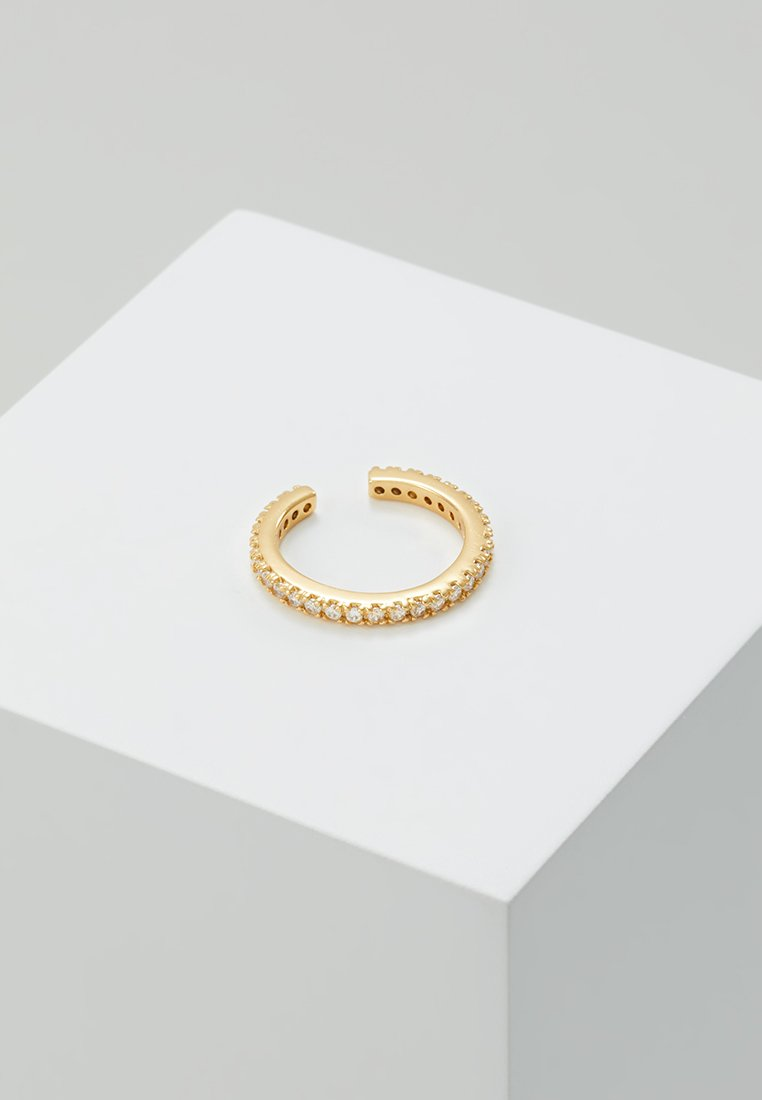 Orelia - FINE PAVE SINGLE EAR CUFF - Náušnice - gold-coloured
