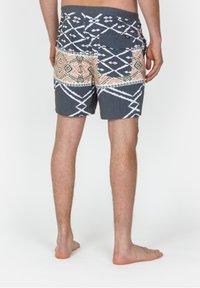 Roark - CHILLER BENIS - Swimming shorts - dark grey - 1