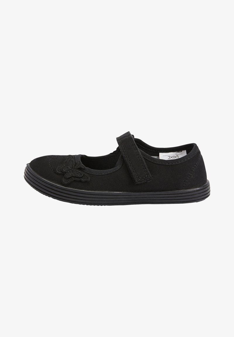 Next - Ankle strap ballet pumps - black