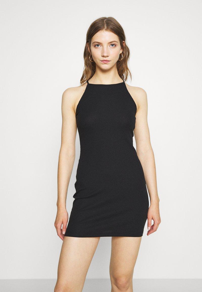 Even&Odd - Žerzejové šaty - black