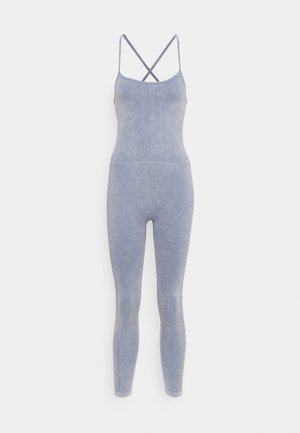 LIFESTYLE SEAMLESS YOGA ONESIE - Gym suit - blue jay wash