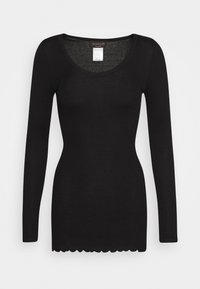 Rosemunde - Long sleeved top - black - 3