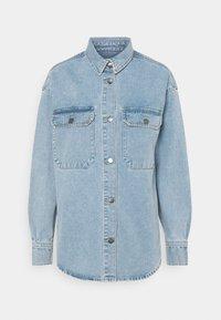 JDY - JDYBAILEY LIFE  - Short coat - light blue denim - 5