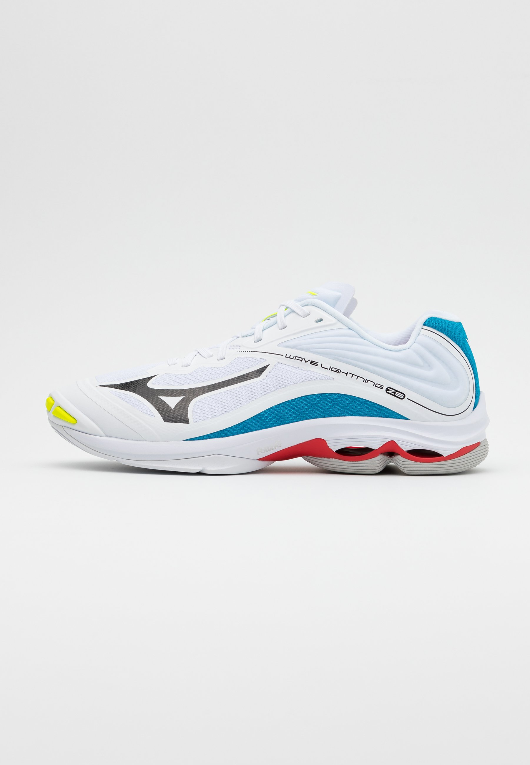 Mizuno WAVE LIGHTNING Z6 Volleyballsko whitedark shadow