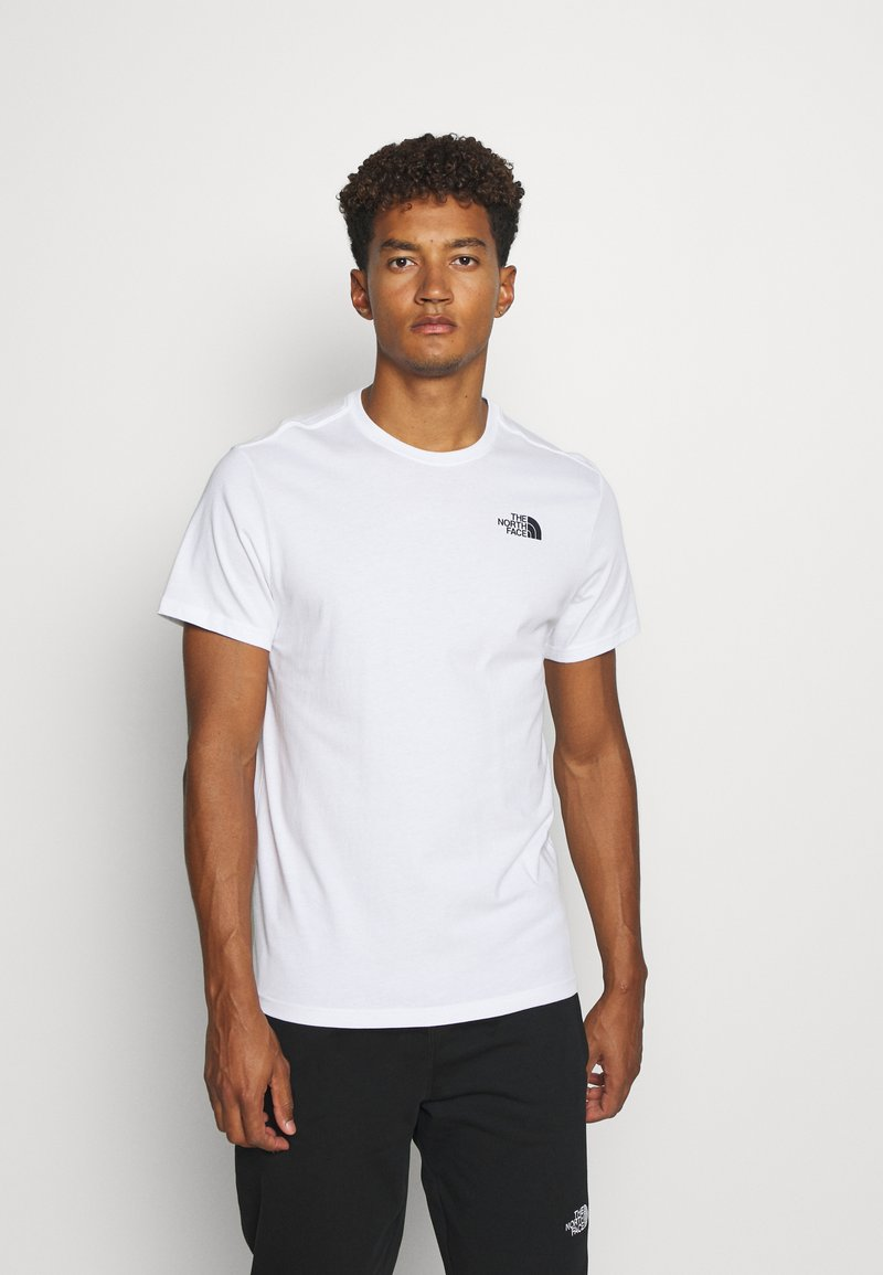 The North Face - REDBOX CELEBRATION TEE - Print T-shirt - white