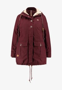 Ragwear Plus - JANE COAT - Parkatakki - wine red - 4