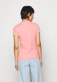 Tommy Hilfiger - SHORT SLEEVE SLIM - Poloshirts - watermelon pink - 2