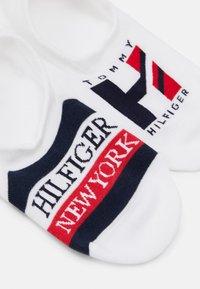 Tommy Hilfiger - MEN FOOTIE GIFTBOX 4 PACK - Calcetines tobilleros - white/navy - 1