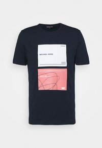 Michael Kors - TILE TEE - Print T-shirt - midnight - 0