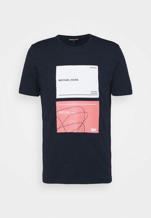 TILE TEE - Print T-shirt - midnight