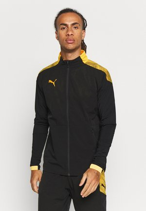 PRO JACKET - Chaqueta de entrenamiento - black/ultra yellow