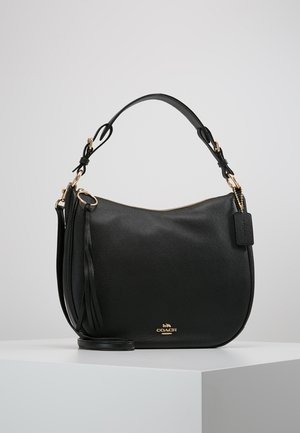 POLISHED SUTTON - Handtasche - gold/black
