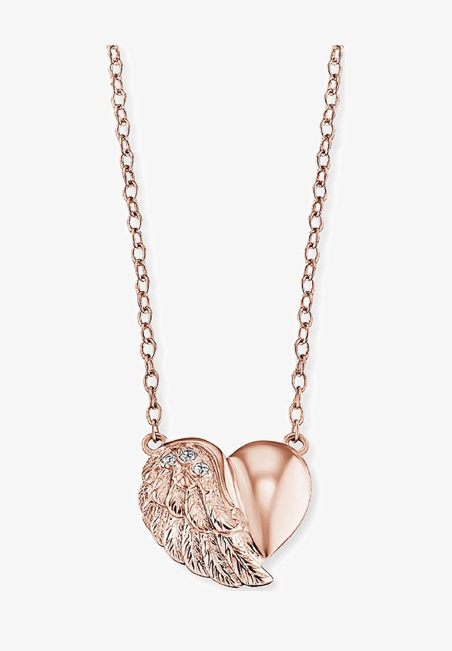 Halskette - rosé
