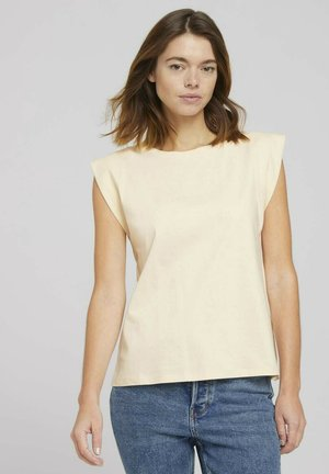T-shirt basique - soft creme beige