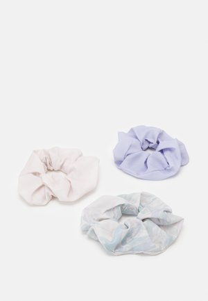 SCRUNCHIE 3 PACK - Hair Styling Accessory - purple marble