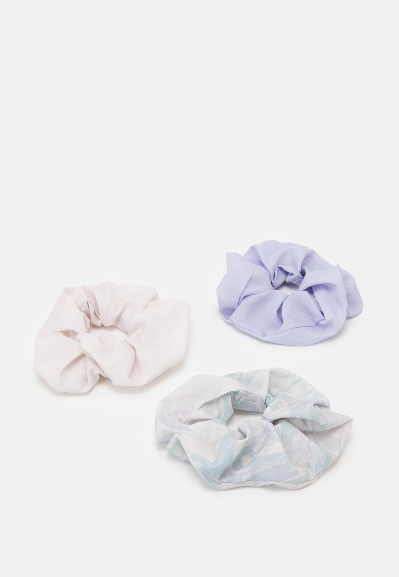 Weekday - SCRUNCHIE 3 PACK - Hair styling accessory - purple marble