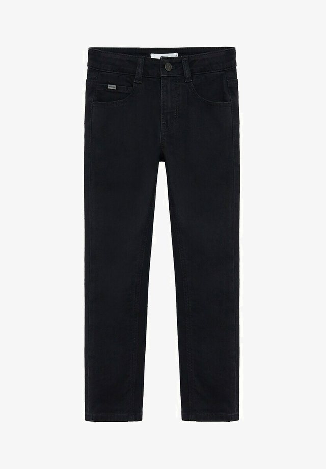 REGULAR - Straight leg jeans - black denim