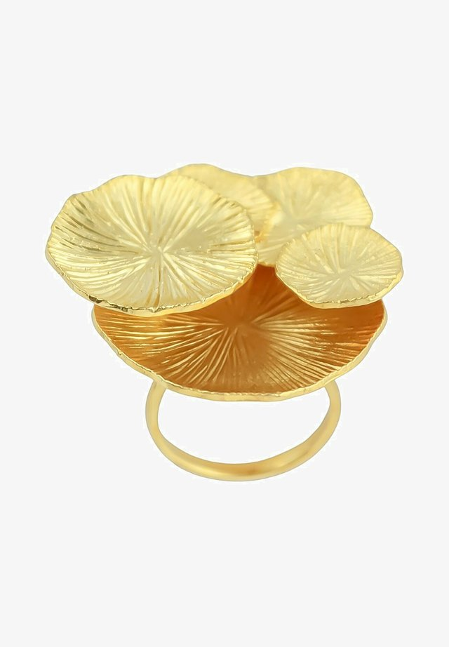 LOTUS  - Sormus - gold coloured