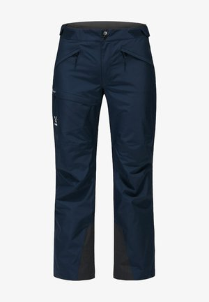LUMI FORM PANT - Snow pants - tarn blue