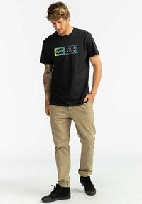 Billabong - INVERSED  - Print T-shirt - black - 1