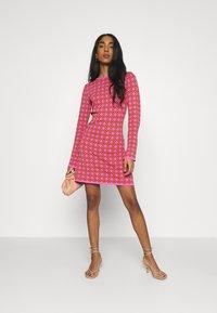 Never Fully Dressed - MOSAIC TILE SWING DRESS - Jumper dress - pink - 1