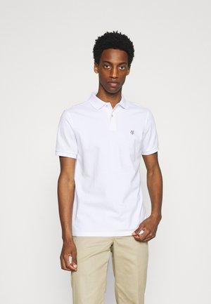 SHORT SLEEVE BUTTON - Polo shirt - white