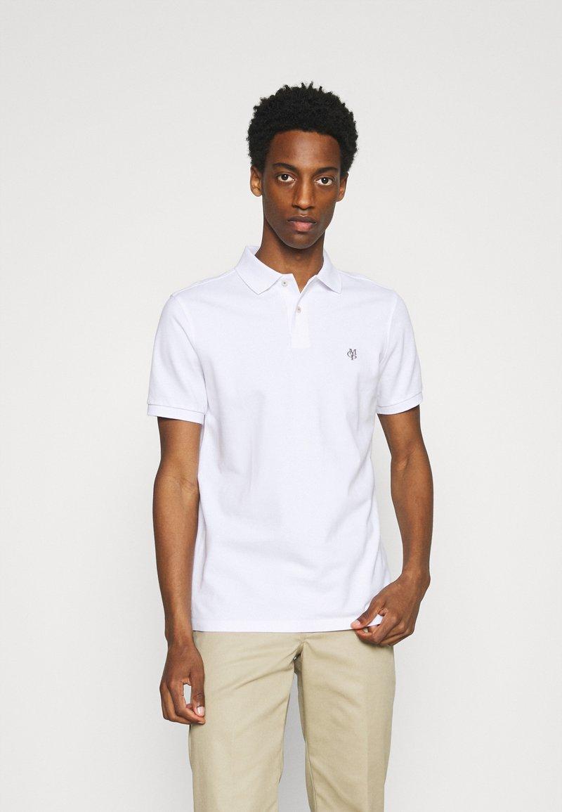 Marc O'Polo - SHORT SLEEVE BUTTON - Polo shirt - white