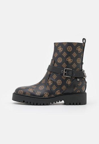 ORACIA - Cowboy/biker ankle boot - brown