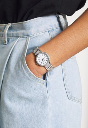 WRIST WEAR BY SEKONDA LADIES FASHION WATCH - Klokke - silver-coloured
