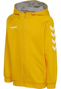 Hummel - HMLGO - Sweat à capuche zippé - sports yellow - 2