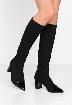 BETTINA - Boots - schwarz