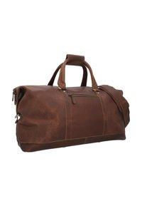 Gusti Leder - RUBEN - Weekend bag - camel - 2