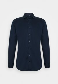 Seidensticker - SLIM LIGHT SPREAD KENT PATCH - Formal shirt - dunkelblau - 0