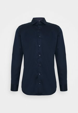 SLIM LIGHT SPREAD KENT PATCH - Camisa elegante - dunkelblau