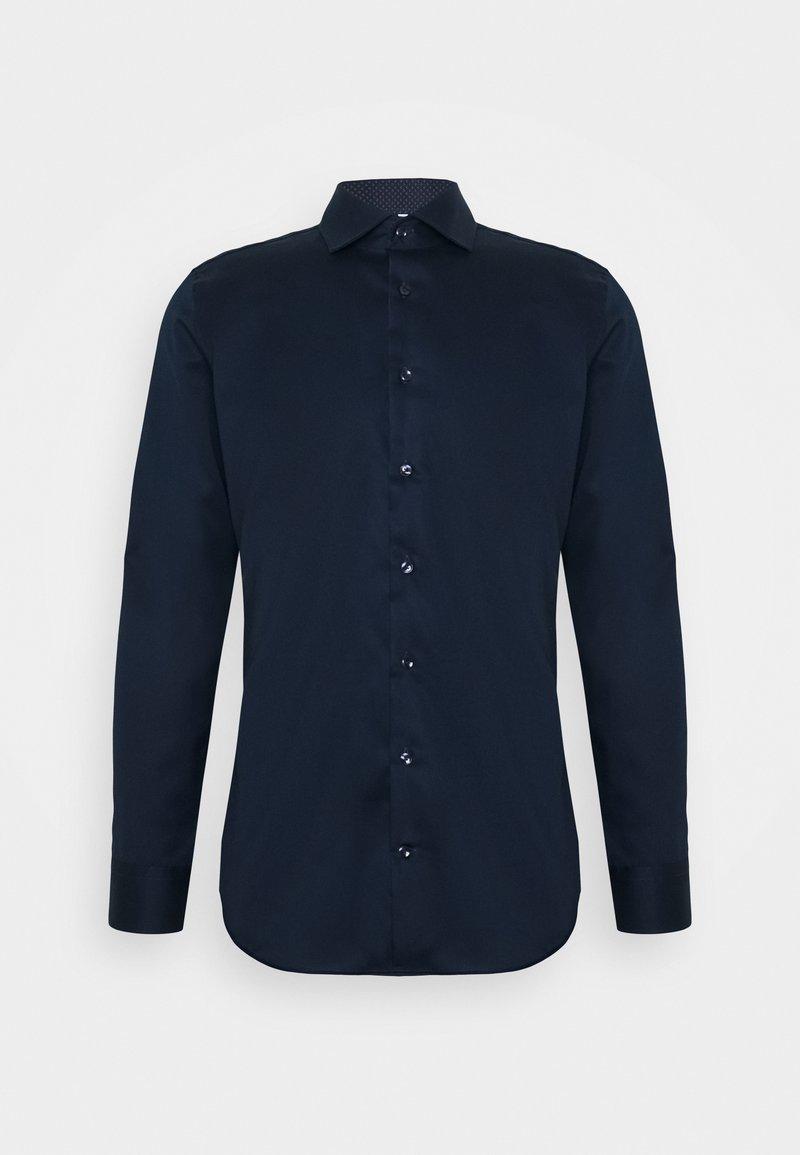 Seidensticker - SLIM LIGHT SPREAD KENT PATCH - Formal shirt - dunkelblau