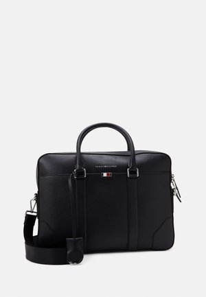 BUSINESS SLIM BAG UNISEX - Aktówka - black