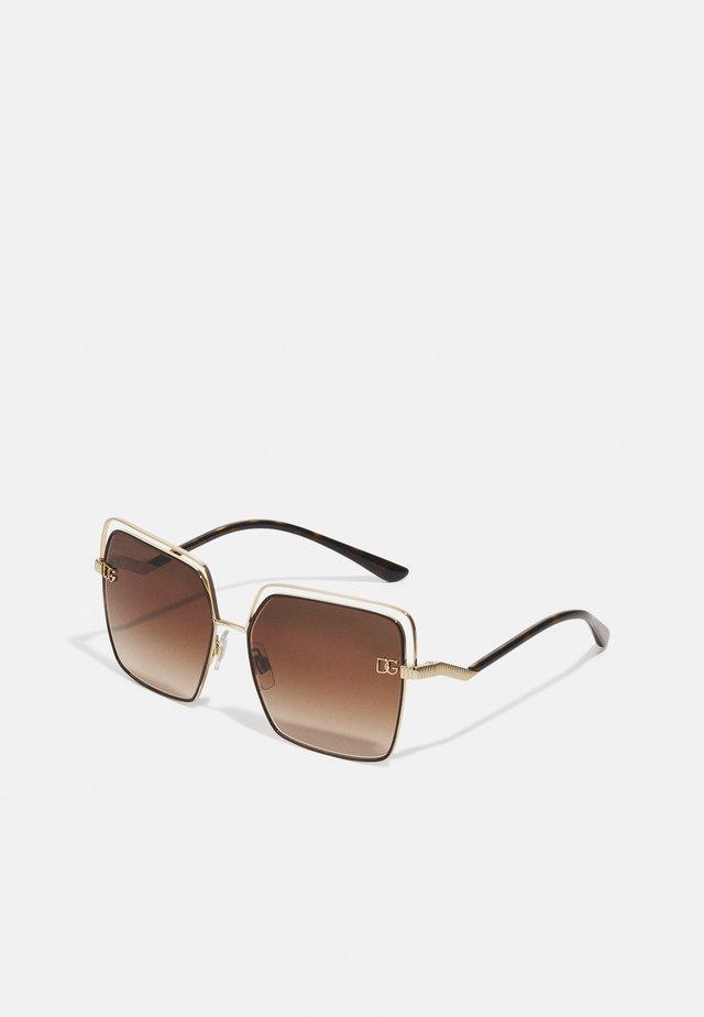 Solbriller - gold-coloured/brown