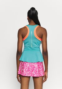 ASICS - TENNIS TANK - Sports shirt - techno cyan - 3