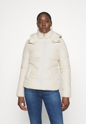 Winter jacket - soft cream