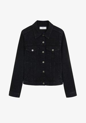 VICKY - Denim jacket - black denim
