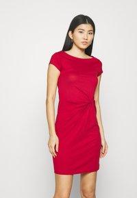 Anna Field - Žerzejové šaty - red - 0