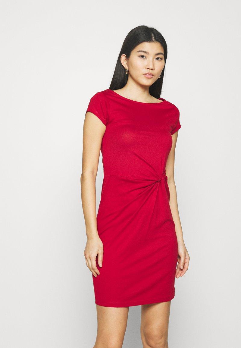 Anna Field - Žerzejové šaty - red