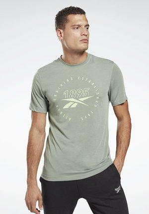 SPEEDWICK TRAINING GRAPHIC - Camiseta estampada - green