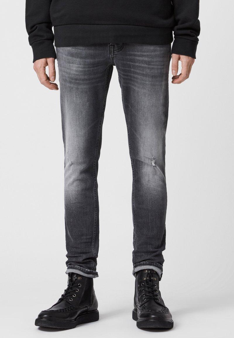AllSaints - Slim fit jeans - black