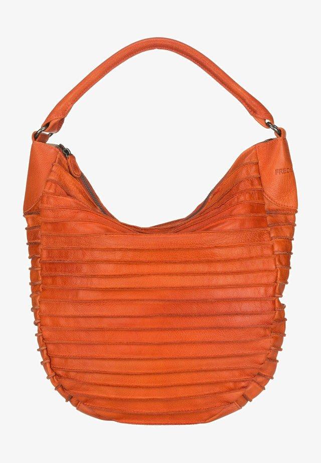 HOBO RIFFELTIER  - Shopping bag - carrot