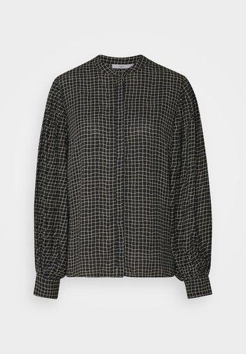 ESTLINE - Button-down blouse - black