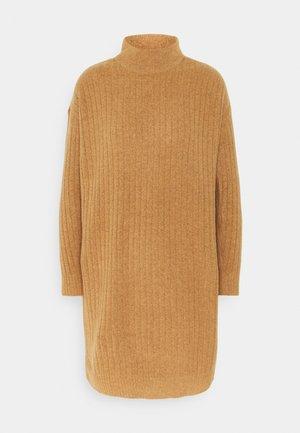 ONLMEKIA DRESS  - Jumper dress - brown melange