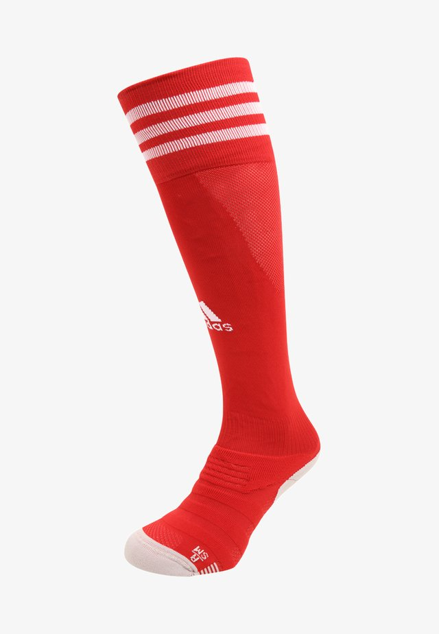CLIMACOOL TECHFIT FOOTBALL KNEE SOCKS - Chaussettes hautes - power red/white