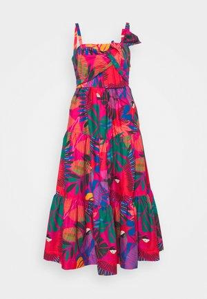 MACAW BOW MIDI DRESS - Denní šaty - multi